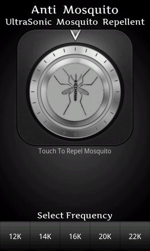 Free Anti Mosquito cell phone app