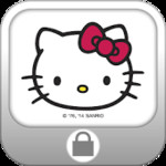 Hello Kitty Screen Lock