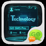 GO SMS PRO TECHNOLOGY THEME EX