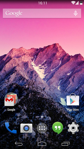 Android 4.4 KitKat Theme screenshot 1