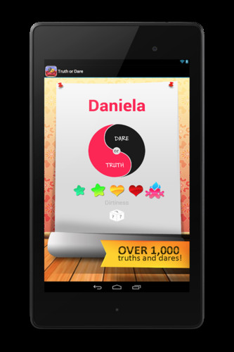 Free Truth or Dare cell phone app