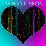 Rainbow Neon Keyboard