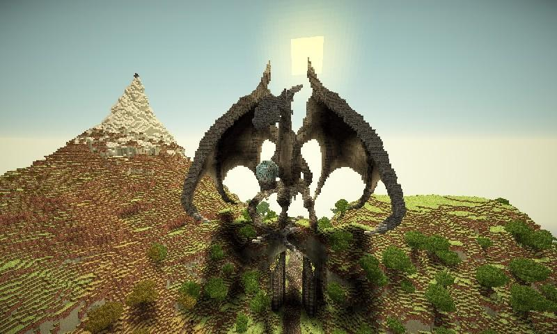 EPIC Minecraft Build Wallpaper screenshot 6