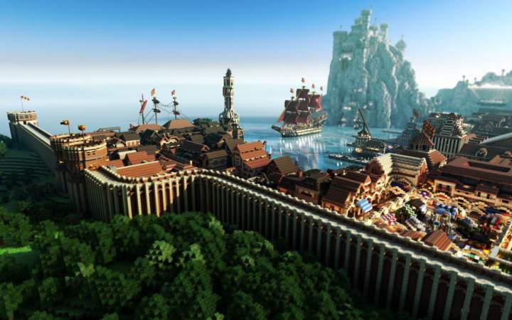 EPIC Minecraft Build Wallpaper screenshot 12