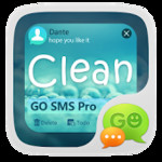GO SMS Pro Clean Theme EX