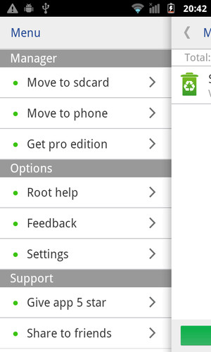 Move app to SD card screenshot 5