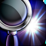 Magnifying Glass Flashlight