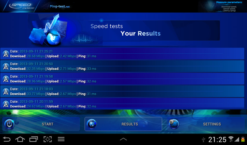 Internet Speed Test screenshot 7