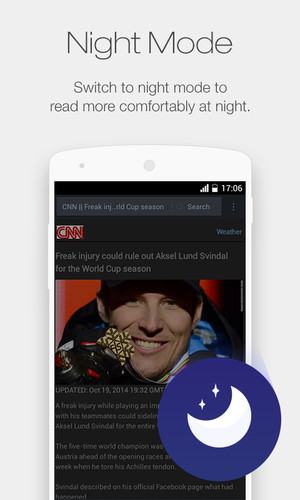 UC Browser Mini for Android screenshot 6
