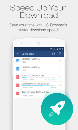 UC Browser Mini for Android screenshot 7