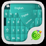GO Keyboard Soft Green Theme