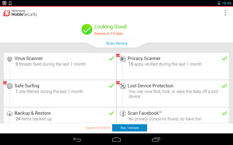 Mobile Security & Antivirus screenshot 2