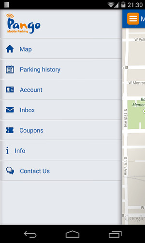 Pango Mobile Parking screenshot 3