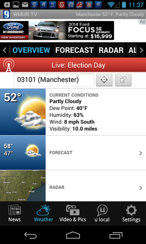 Free WMUR News 9 - NH news, weather cell phone app