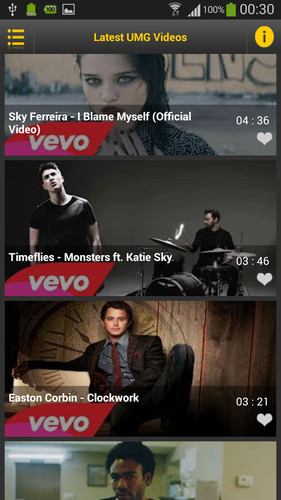 Video Music Tube screenshot 2