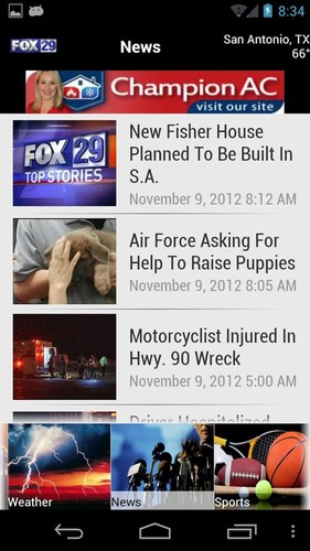 KABB FOX29 screenshot 2