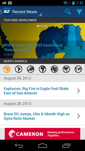 Free RIGZONE - Oil & Gas News, Jobs cell phone app