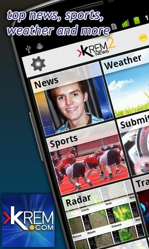 Free KREM 2 News cell phone app