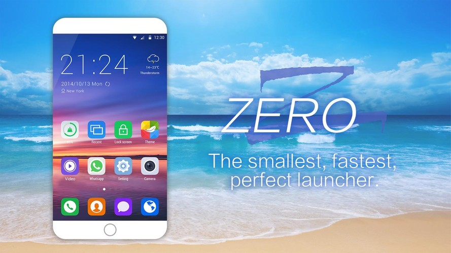 Free ZERO Launcher-Free,Boost,Theme cell phone app