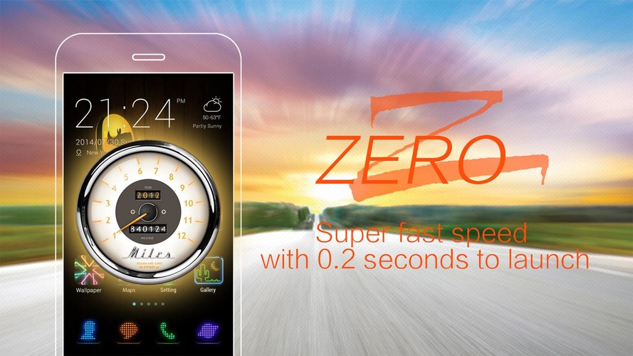 ZERO Launcher-Free,Boost,Theme screenshot 3