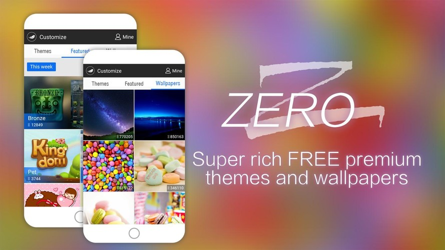 ZERO Launcher-Free,Boost,Theme screenshot 4