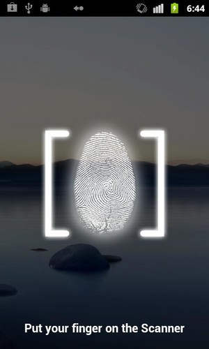 Free Fingerprint Lock Screen cell phone app