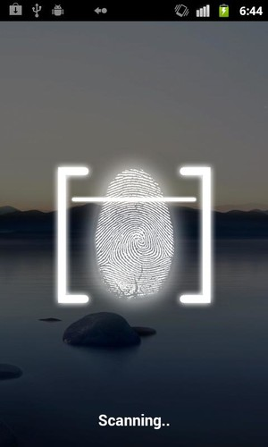 Fingerprint Lock Screen screenshot 2