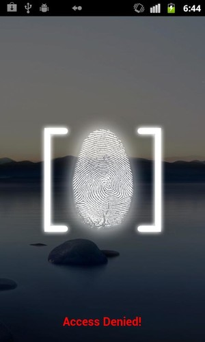 Fingerprint Lock Screen screenshot 3