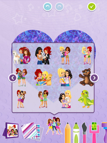 LEGO® Friends Art Maker screenshot 3