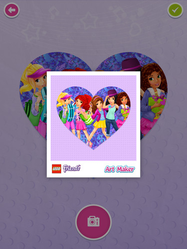 LEGO® Friends Art Maker screenshot 9