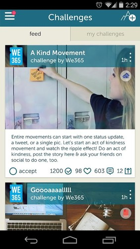 Free We365 cell phone app