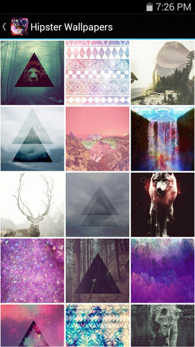 Free Hipster Wallpapers cell phone app