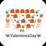 Emoji Keyboard- Valentines Art