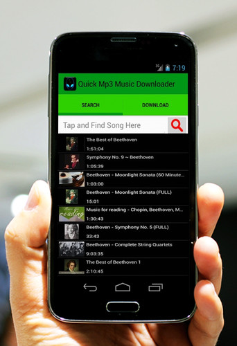 Quick Mp3 Music Downloader screenshot 2