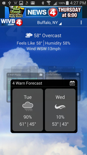 4 Warn Weather screenshot 2