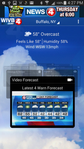 4 Warn Weather screenshot 3