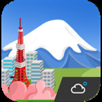 Japan Cute Weather Widget