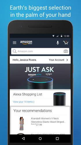 Free Amazon Shopping cell phone app