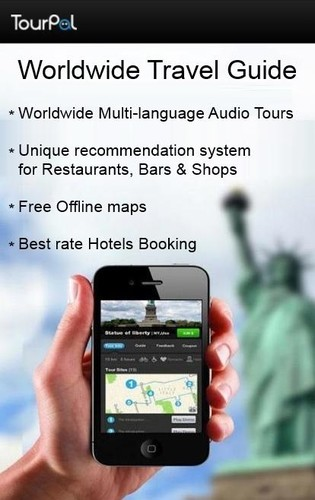 Free Travel guide / City Tour Guide cell phone app