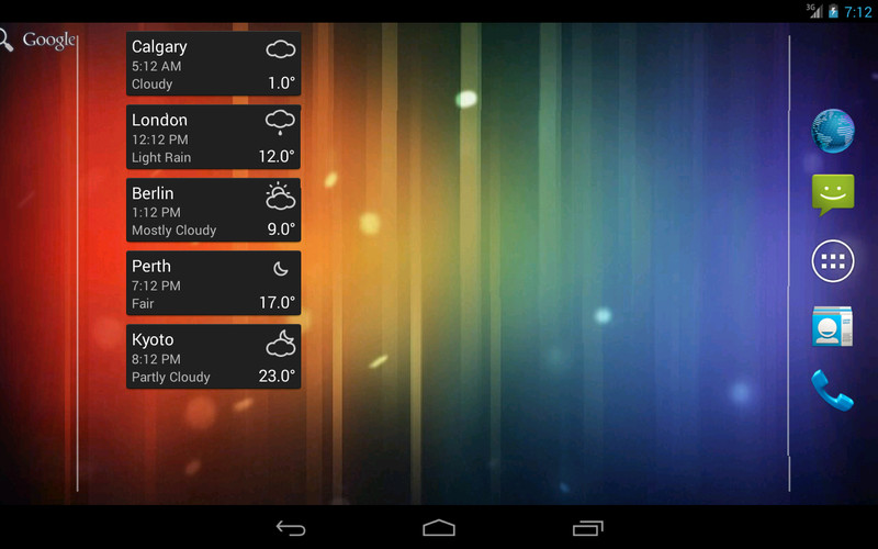World Clock & Weather Widget screenshot 3