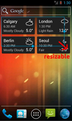 World Clock & Weather Widget screenshot 6