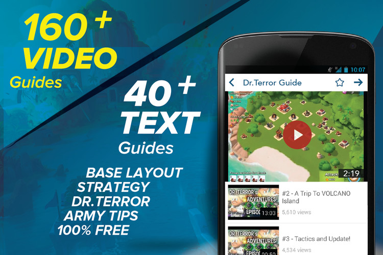 Free Guide for Boom Beach cell phone app