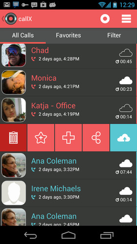 Automatic Call Recorder screenshot 4