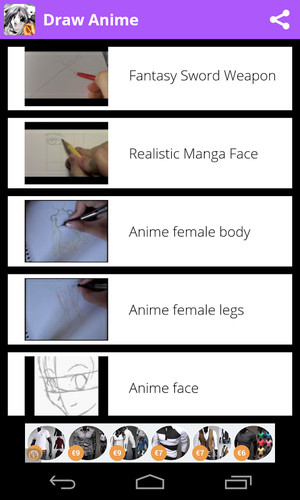 Draw Anime - Manga Tutorials screenshot 5
