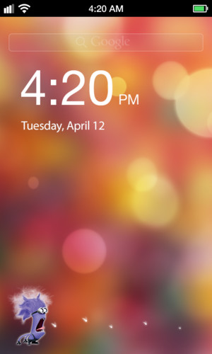 Free Crazy Lock Screen cell phone app