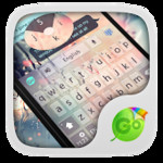 Free Glass GO Keyboard Theme
