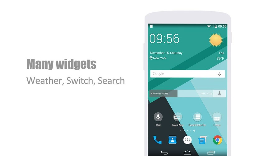 L Launcher - Lollipop Launcher screenshot 5