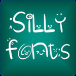 Silly fonts for FlipFont free