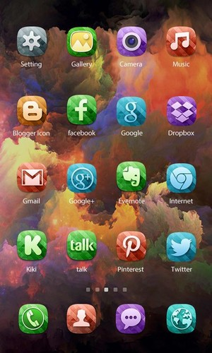 Color X Theme - ZERO launcher screenshot 2