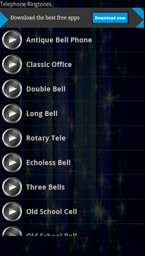 Free Telephone Ringtones cell phone app